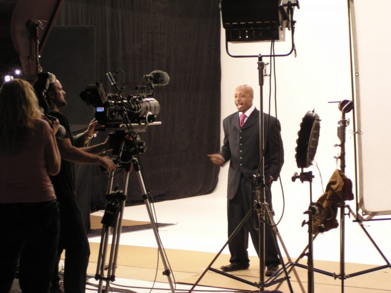MC Hammer music video production