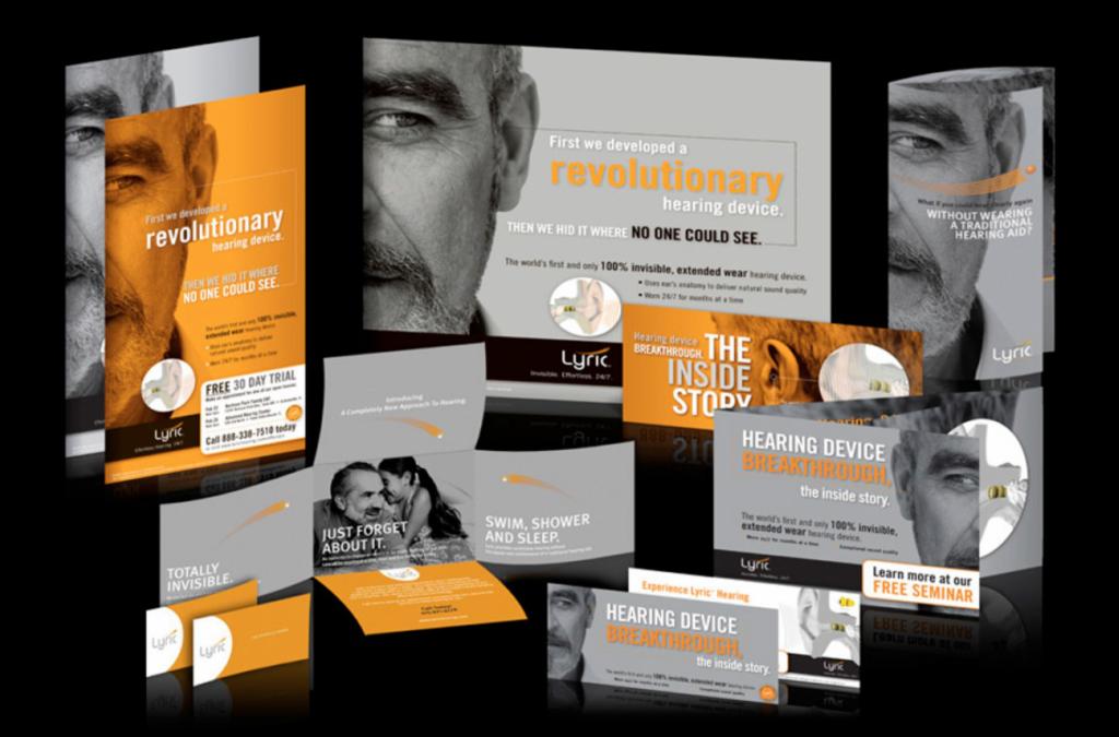 marketing company print materials