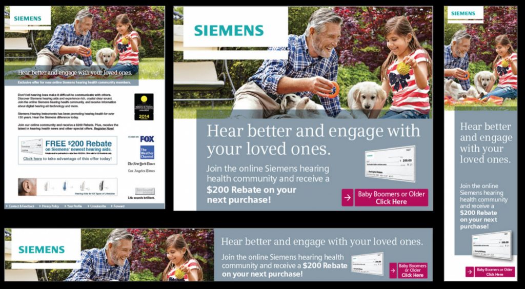 Siemens video production dublin healthcare advertising agency marketing services