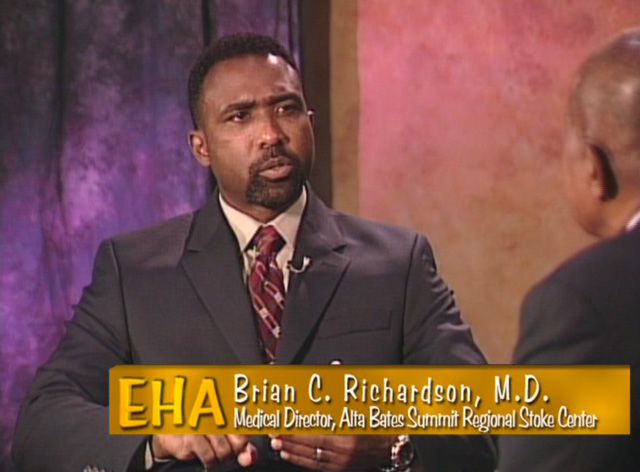 talk show set ethnic health America 2